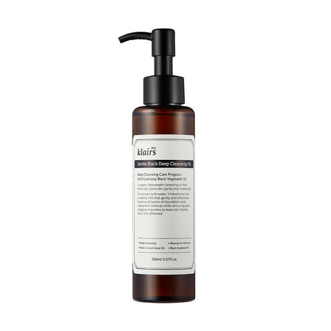 Klairs Gentle Black Deep Cleansing Oil (150ml)