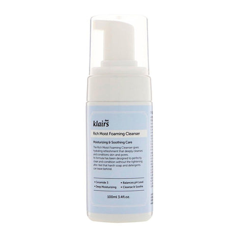 Klairs Rich Moist Foaming Cleanser (100ml)