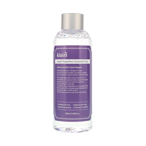 Klairs Supple Preparation Unscented Toner (180ml)