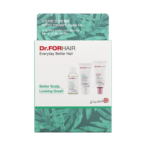 Dr.FORHAIR Phyto Therapy Starter Kit (55ml + 30ml + 30ml)