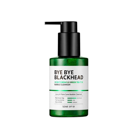Some By Mi Bye Bye Blackhead 30 Days Miracle Green Tea Tox Bubble Cleanser (120g)