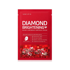Some By Mi Diamond Brightening Glow Luminous Ampoule Mask (1pc)