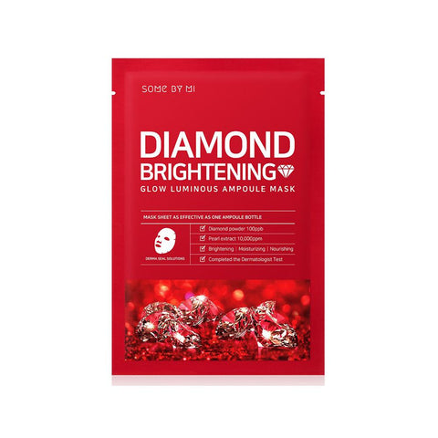 Diamond Brightening Glow Luminous Ampoule Mask (1pc)