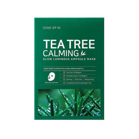 Tea Tree Calming Glow Luminous Ampoule Mask (10pcs)