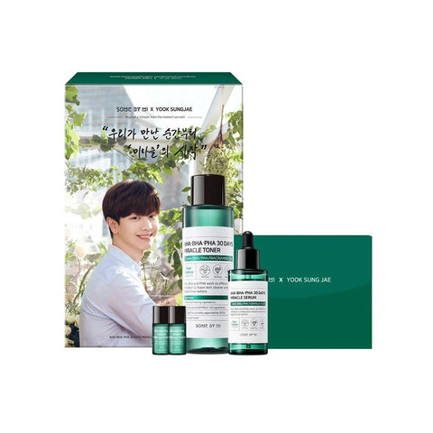 Some By Mi [Bundle] Yook Sungjae Limited Edition (30 Days Miracle Toner + Serum)