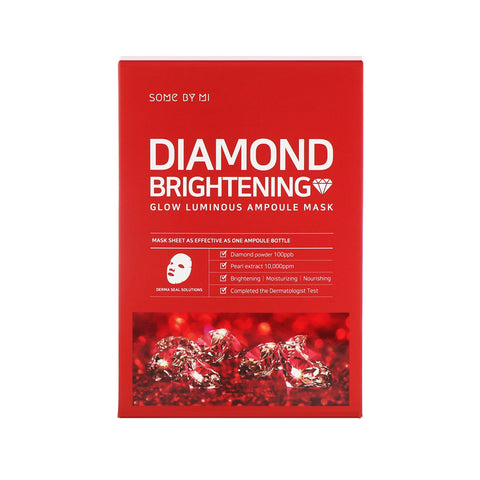 Diamond Brightening Glow Luminous Ampoule Mask (10pc)
