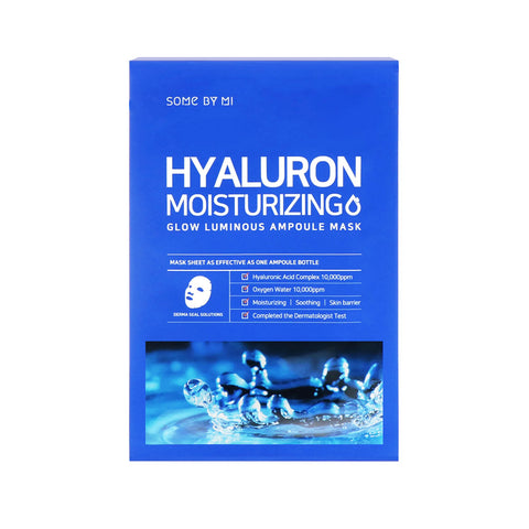 Hyaluron Moisturising Glow Luminous Ampoule Mask (10pc)