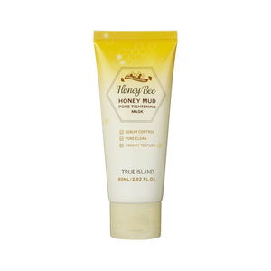 True Island Honey Bee Honey Mud Pore Tightening Mask (60ml)