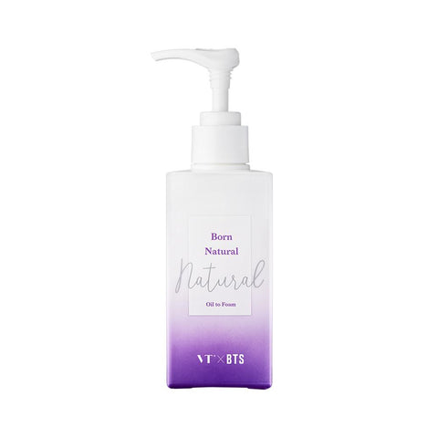 VT Cosmetics Born Natural Oil To Foam (160ml)