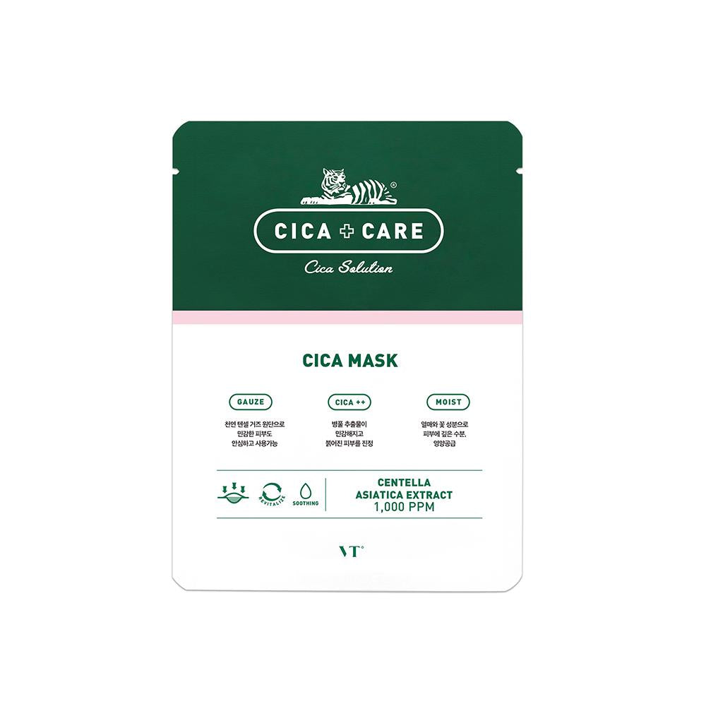 VT Cosmetics Cica Mask Pack (10pcs)