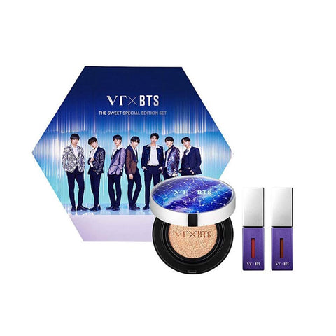 VT Cosmetics VT X BTS The Sweet Special Edition #21 Ivory (Set)