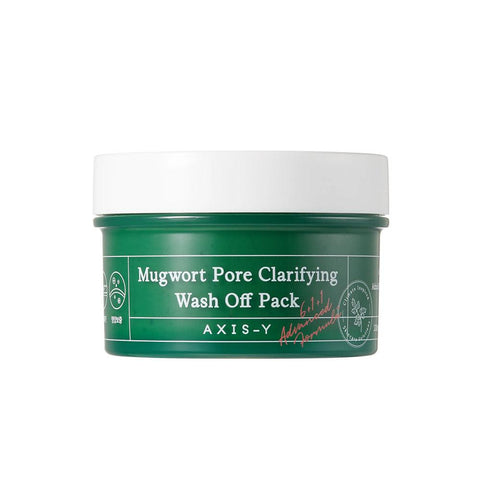 Axis-Y Mugwort Pore Clarifying Wash Off Pack (100ml)