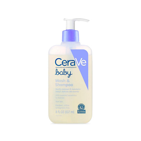 CeraVe Baby Wash & Shampoo (237ml)
