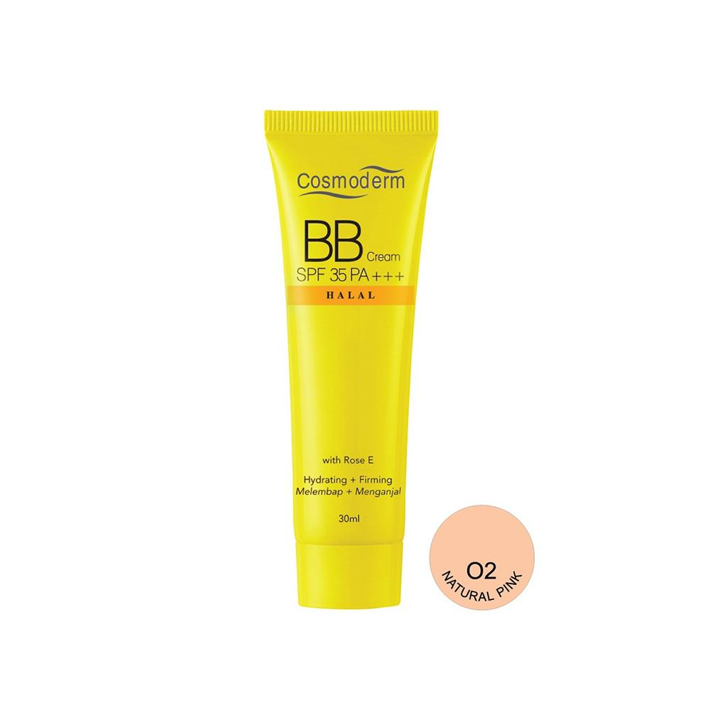 Cosmoderm BB Cream SPF 35 PA +++ Hydrating + Firming #02 Natural Pink (30ml)