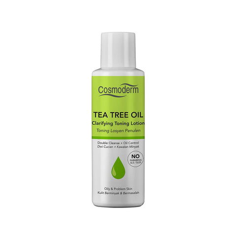 Cosmoderm Tea Tree Oil Clarifying Toning Lotion (100ml)