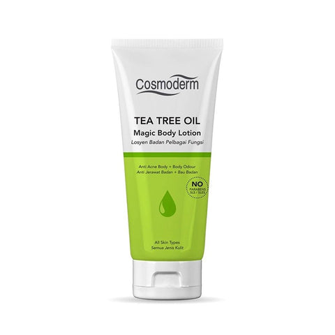 Cosmoderm Tea Tree Oil Magic Body Lotion (125ml)