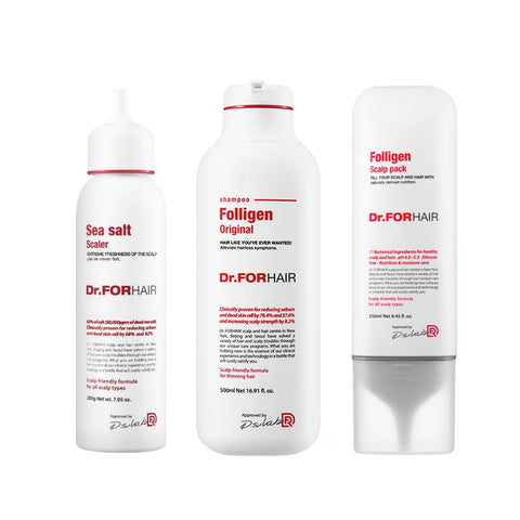 Essential 3 Steps Scalp Care (200ml + 300ml + 250ml)