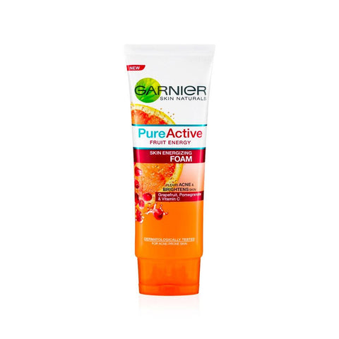 Garnier Pure Active Fruit Energy Skin Energizing Foam (50ml)