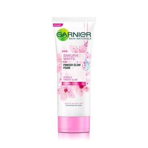 Garnier Sakura White Pinkish Glow Foam (100ml)