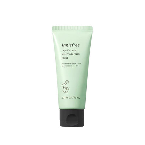 Innisfree Jeju Volcanic Color Clay Mask - Cica (70ml)