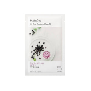 Innisfree My Real Squeeze Mask EX - Acai Berry (1pc)