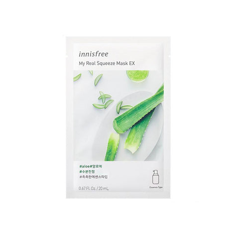Innisfree My Real Squeeze Mask EX - Aloe (1pc)