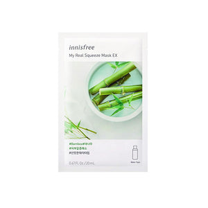 Innisfree My Real Squeeze Mask EX - Bamboo (1pc)