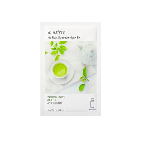 Innisfree My Real Squeeze Mask EX - Green Tea (1pc)