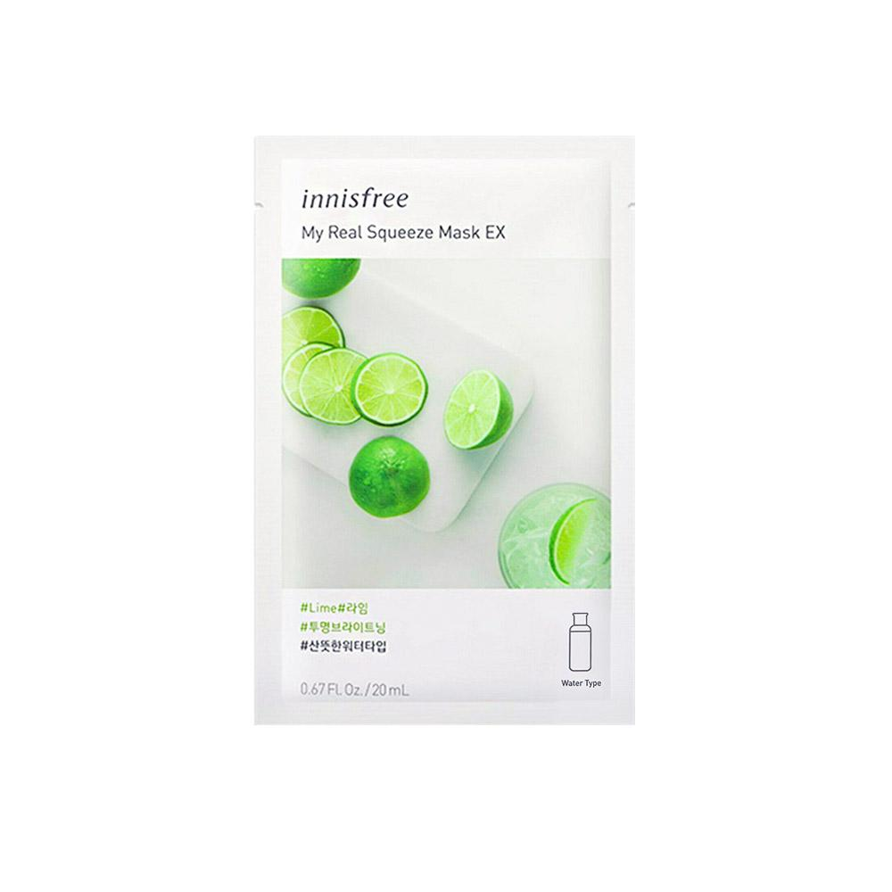 Innisfree My Real Squeeze Mask EX - Lime (1pc)