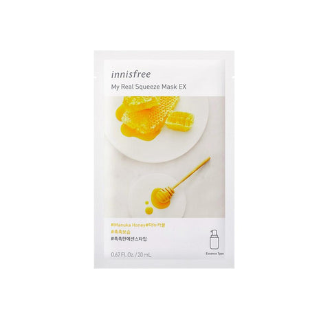 Innisfree My Real Squeeze Mask EX - Manuka Honey (1pc)