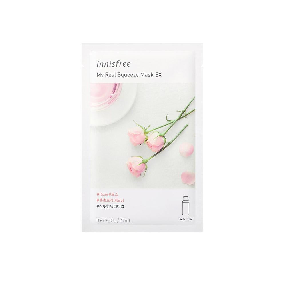 Innisfree My Real Squeeze Mask EX - Rose (1pc)