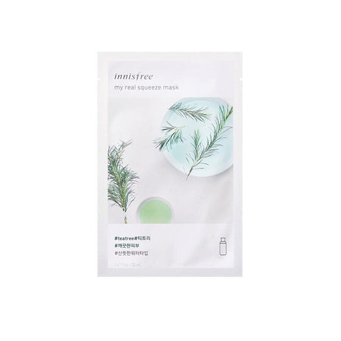Innisfree My Real Squeeze Mask EX - Tea Tree (1pc)