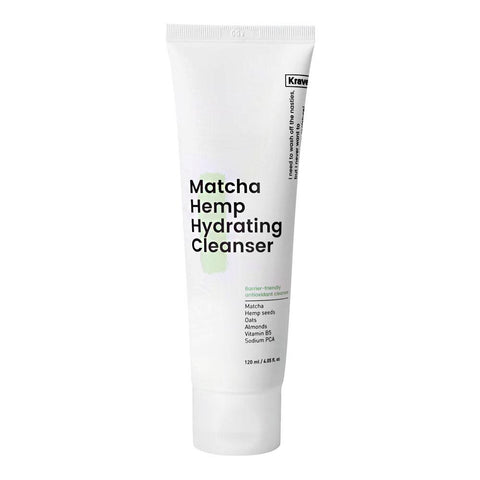 KraveBeauty Matcha Hemp Hydrating Cleanser (120ml)