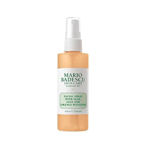 Mario Badescu Facial Spray with Aloe, Sage and Orange Blossom (118ml)