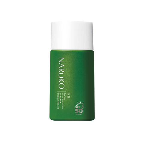 Naruko Tea Tree Anti-Acne Sunscreen SPF 50 (30ml)
