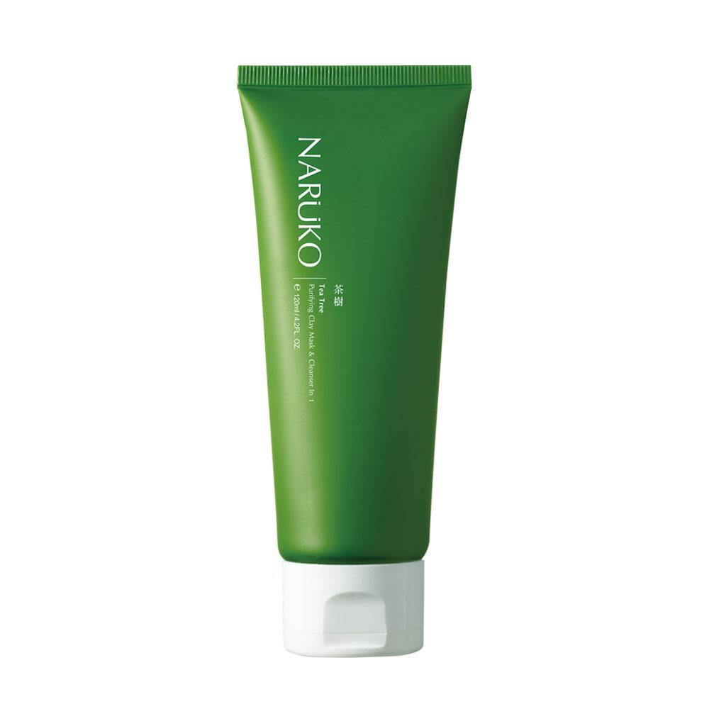 Naruko Tea Tree Purifying Clay Mask & Cleanser In 1 (120ml)