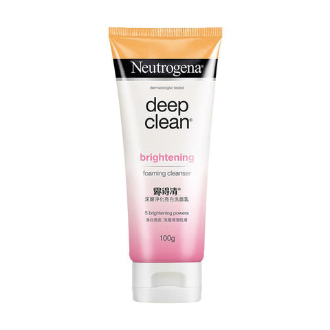 Neutrogena Deep Clean Brightening Foaming Cleanser (100g)