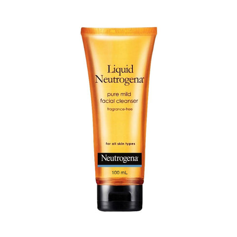 Neutrogena Liquid Pure Mild Facial Cleanser Fragrance-Free (100ml)