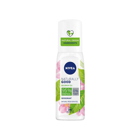 Nivea Naturally Good Bio Green Tea Deodorant Spray (75ml)
