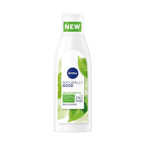 Nivea Naturally Good Organic Green Tea Cleansing Milk Moisturizing (200ml)