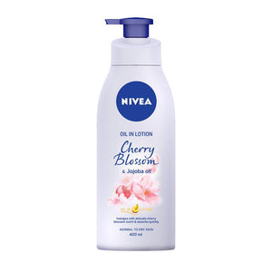 Nivea Oil In Lotion Cherry Blossom & Jojoba Oil (400ml)
