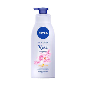 Nivea Oil In Lotion Rose & Argan Oil (400ml)