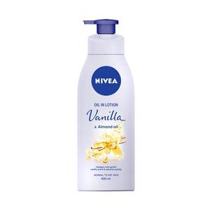 Nivea Oil In Lotion Vanilla & Almond Oil (400ml)