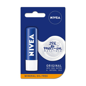 Nivea Original Care With Shea Butter Caring Lip Balm (4.8g)