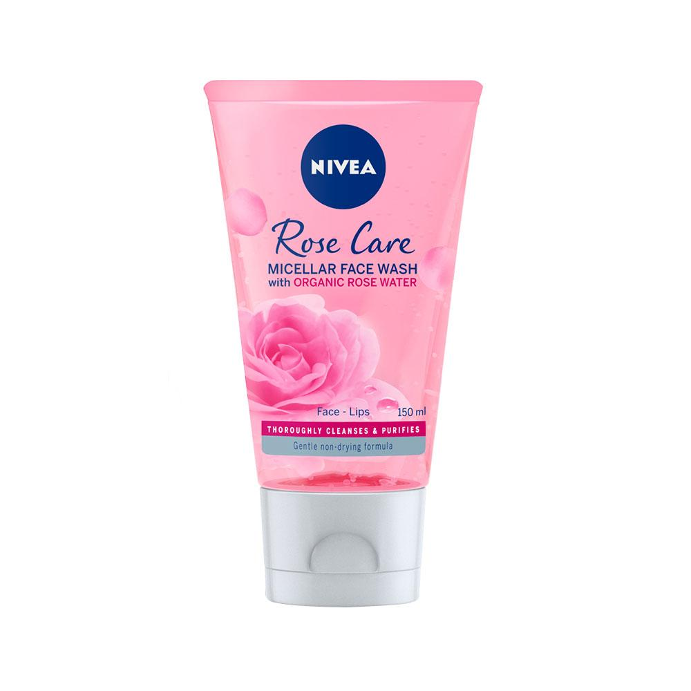 Nivea Rose Care Micellar Face Wash with Organic Rose Water (150ml)