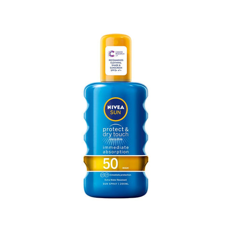 Nivea Sun - Protect & Dry Touch Invisible Sun Spray SPF50 (200ml)