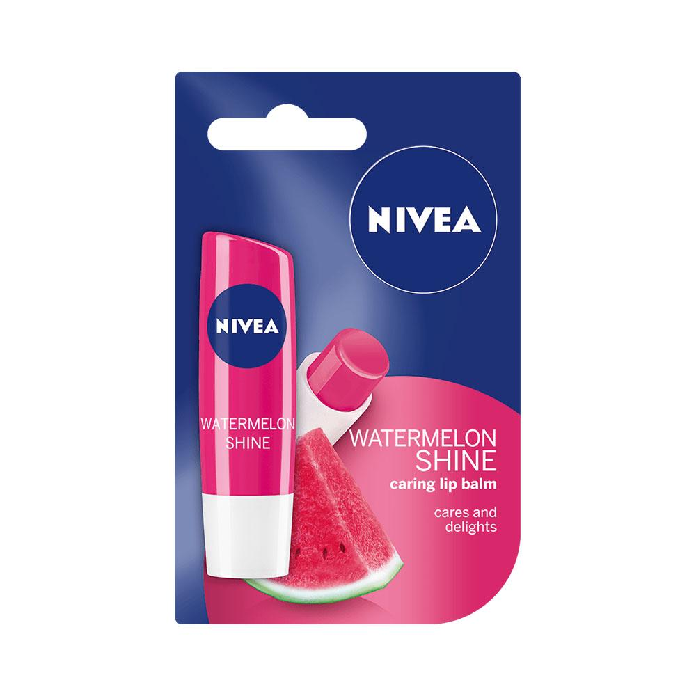 Nivea Watermelon Shine Caring Lip Balm (4.8g)