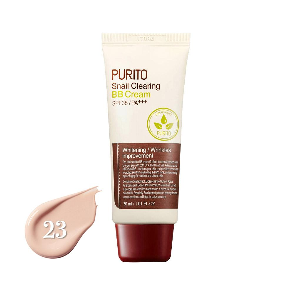 Purito Snail Clearing BB Cream SPF38/PA+++ #23 Natural Beige (30ml)