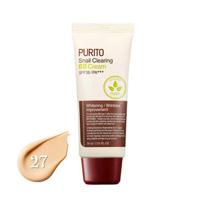 Purito Snail Clearing BB Cream SPF38/PA+++ #27 Sand Beige (30ml)