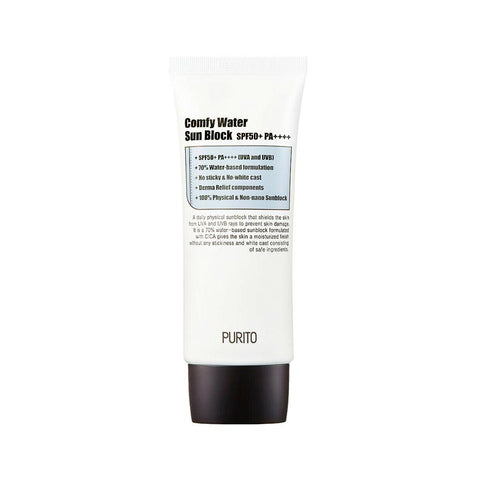 Purito Unscented Comfy Water Sun Block SPF50+ PA++++ (60ml)